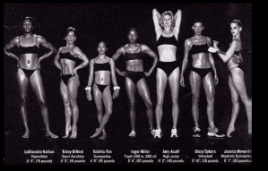 "There's no ""one look"" for every woman, and no ""one body"" for every athlete"